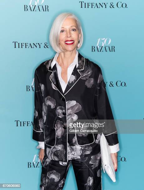 Linda Fargo attends Harper's BAZAAR 150th Anniversary Event presented with Tiffany Co at The Rainbow Room on April 19 2017 in New York City