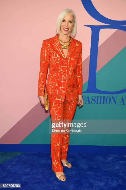 Linda Fargo attends the 2017 CFDA Fashion Awards at Hammerstein Ballroom on June 5 2017 in New York City