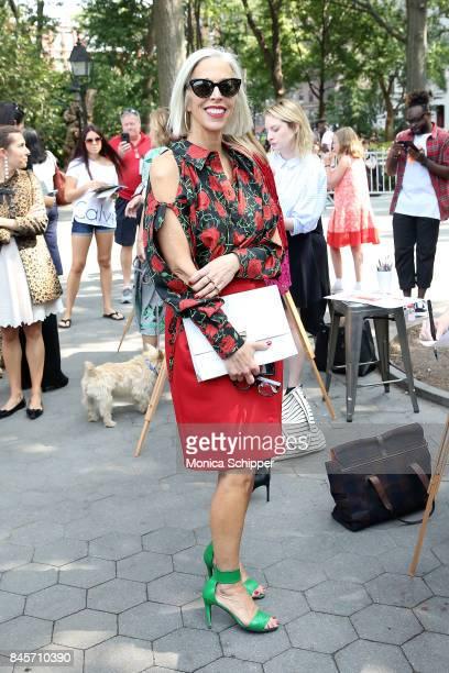 Linda Fargo attends the Lela Rose Presentation during New York Fashion Week at Washington Square Park on September 11 2017 in New York City