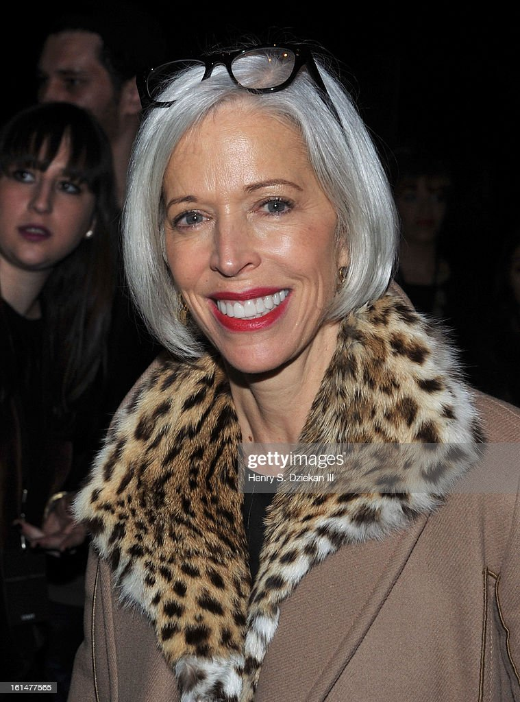 Linda Fargo attends Theyskens' Theory during Fall 2013 Mercedes-Benz Fashion Week at Skylight Studios at Moynihan Station on February 11, 2013 in New York City.