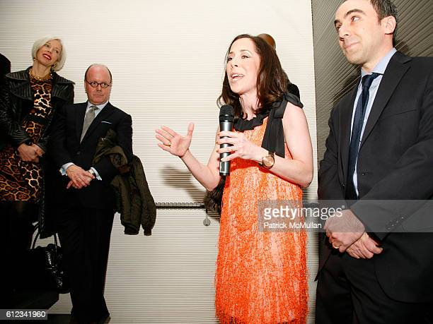 Linda Fargo Robert Burke Sharon Coplan Hurowitz and Richard Hurowitz attend FENDI hosts launch of the John Baldessari Catalogue Raisonne by Sharon...
