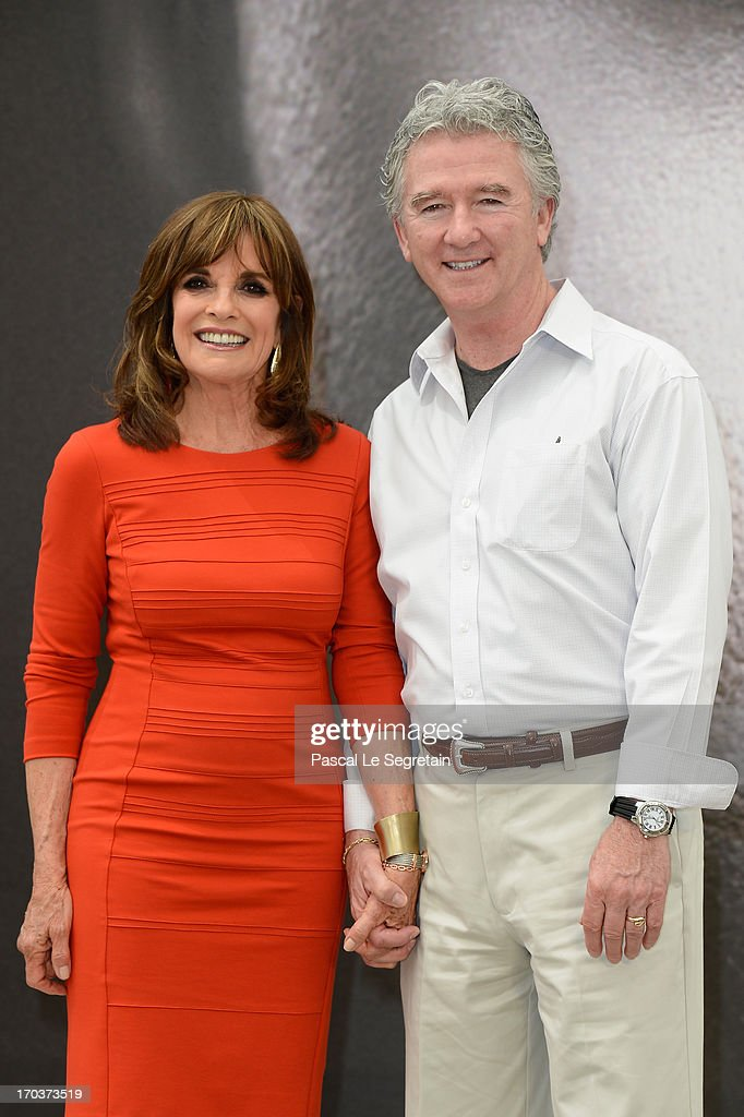 <a gi-track='captionPersonalityLinkClicked' href=/galleries/search?phrase=Linda+Gray&family=editorial&specificpeople=159564 ng-click='$event.stopPropagation()'>Linda Gray</a> and <a gi-track='captionPersonalityLinkClicked' href=/galleries/search?phrase=Patrick+Duffy+-+Actor&family=editorial&specificpeople=224536 ng-click='$event.stopPropagation()'>Patrick Duffy</a> pose at a photocall during the 53rd Monte Carlo TV Festival on June 12, 2013 in Monte-Carlo, Monaco.