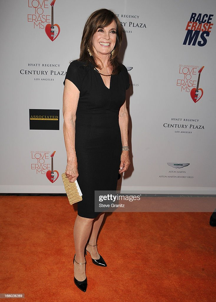 Linda Gray arrives at the 20th Annual Race To Erase MS Gala 'Love To Erase MS' at the Hyatt Regency Century Plaza on May 3, 2013 in Century City, California.