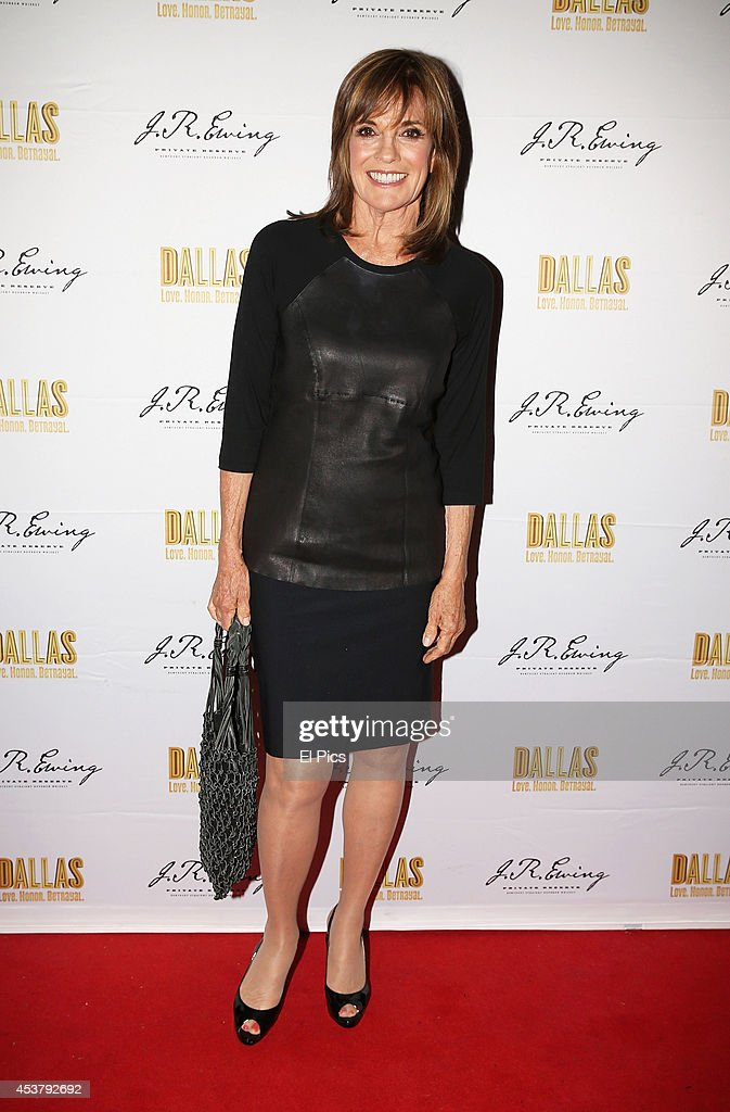 <a gi-track='captionPersonalityLinkClicked' href=/galleries/search?phrase=Linda+Gray&family=editorial&specificpeople=159564 ng-click='$event.stopPropagation()'>Linda Gray</a> attends the J.R. Ewing Bourbon's Launch Party on August 18, 2014 in Sydney, Australia.