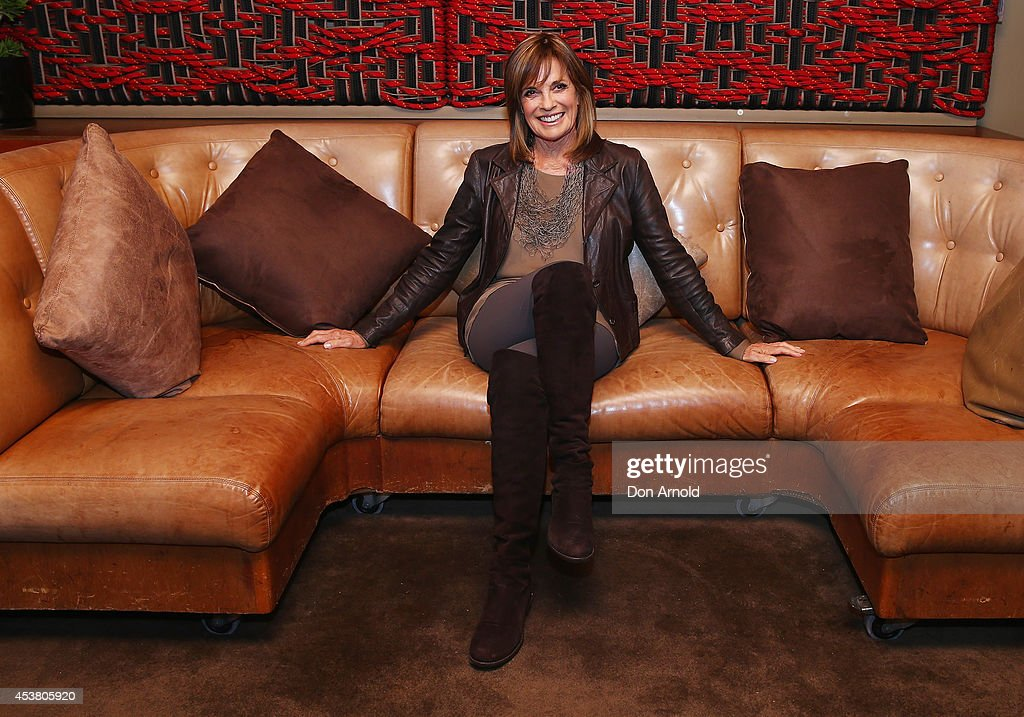 Linda Gray poses at the launch of 'Dallas' on Foxtel's SoHo at The Loft on August 19, 2014 in Sydney, Australia.