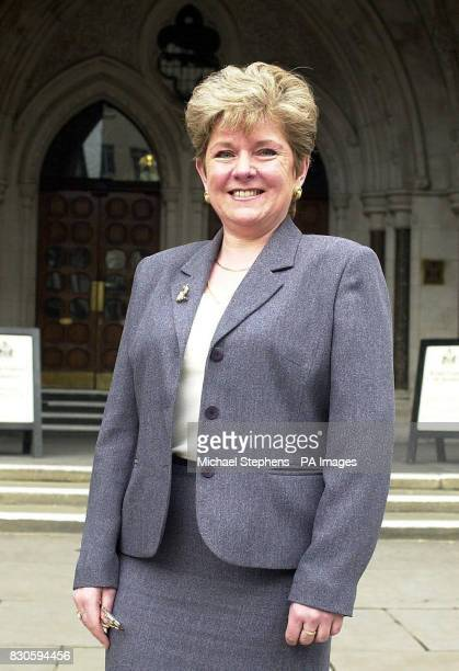 Linda GunnRusso outside the High Court in London fighting for the right to have access to adoption papers The judge was told GunnRusso's legal action...