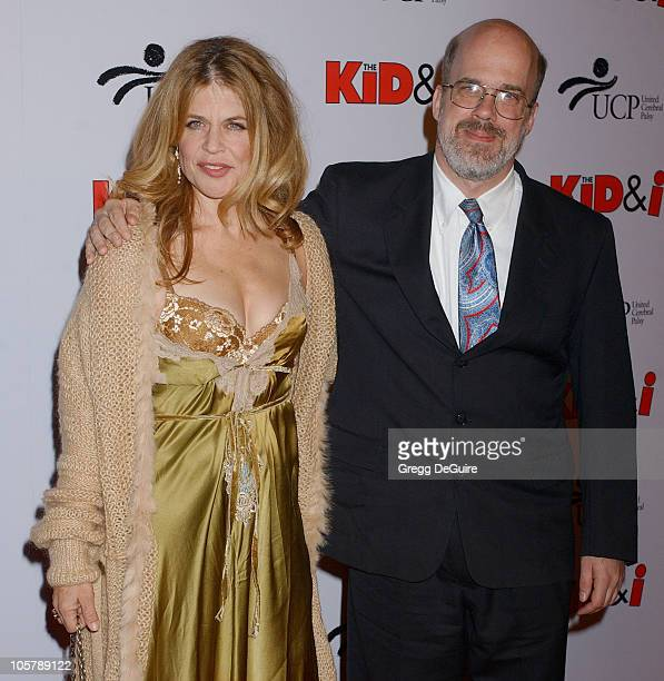 Linda Hamilton and brother Ford during Wheels Up Films' 'The Kid I' Los Angeles Premiere Arrivals at Grauman's Chinese Theater in Hollywood...