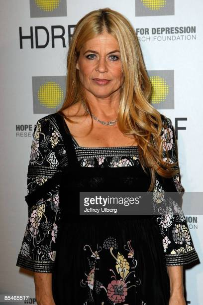 Linda Hamilton attends the Hope for Depression Research Foundation luncheon at the Plaza Hotel on October 22 2008 in New York City