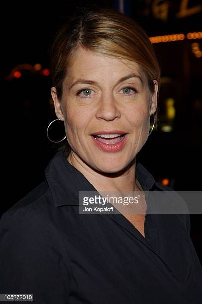 Linda Hamilton during 'Hellboy' Los Angeles Premiere at Mann Village Theater in Westwood California United States