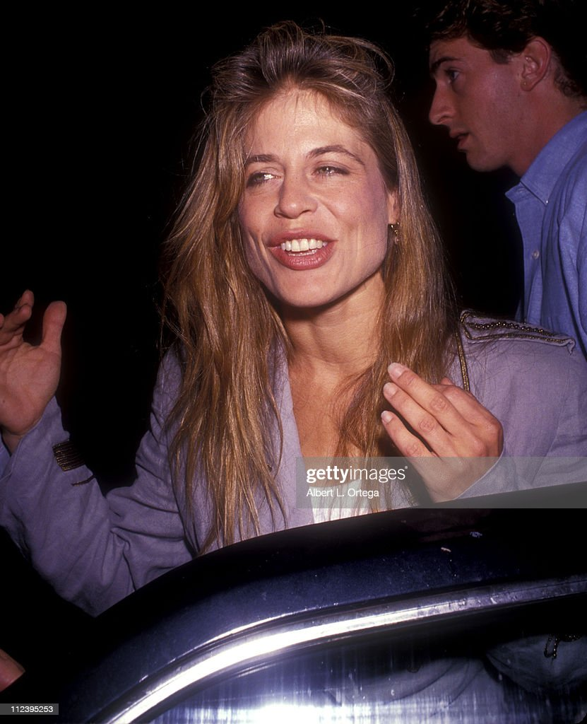 linda hamilton during linda hamilton at the play love letters at canon theater in