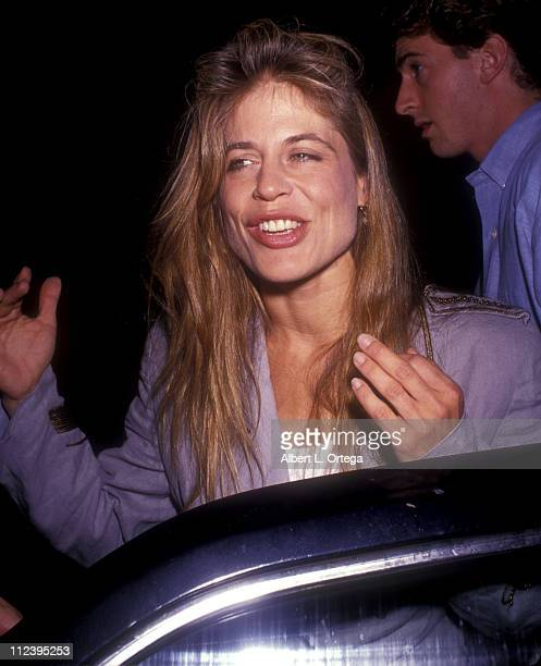 Linda Hamilton during Linda Hamilton at the Play 'Love Letters' at Canon Theater in Beverly Hills CA United States