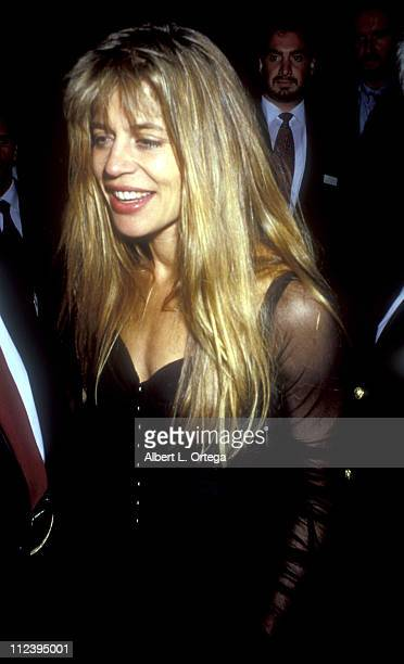 Linda Hamilton during 'Terminator 2 Judgment Day' Los Angeles Premiere After Party at Century Plaza Parking Lot in Century City California United...