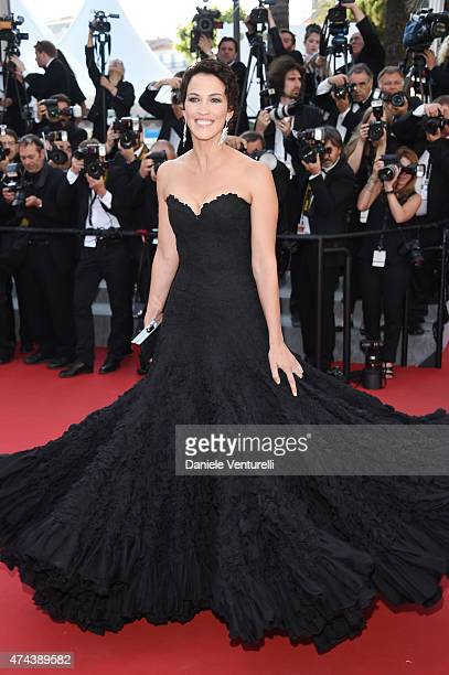 Linda Hardy attends the 'Little Prince' Premiere during the 68th annual Cannes Film Festival on May 22 2015 in Cannes France