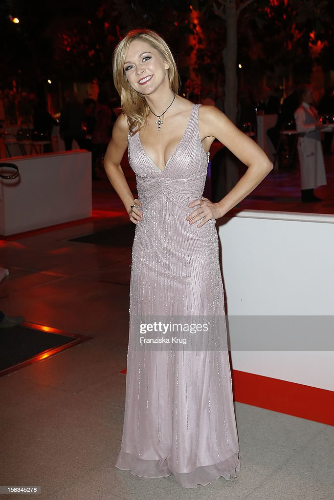 Linda Hesse attends the 18th Annual Jose Carreras Gala on December 13, 2012 in Leipzig, Germany.