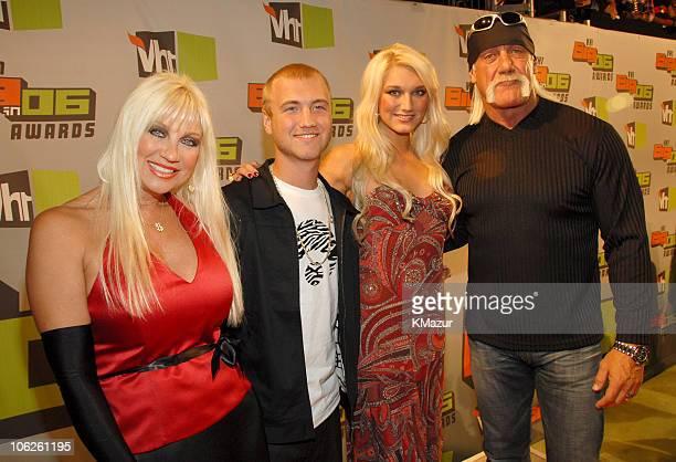 Linda Hogan Nick Hogan Brooke Hogan and Hulk Hogan