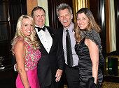 Linda Holliday Bill Belichick Jon Bon Jovi and Dorthea Bon Jovi attend the 5th Annual Irish Eyes Gala at JW Marriott Essex House on March 16 2015 in...