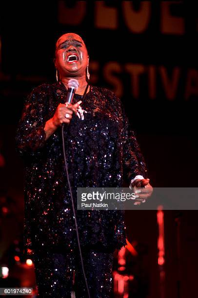 Linda Hopkins at the Petrillo Bandshell in Chicago Illinois June 16 1991
