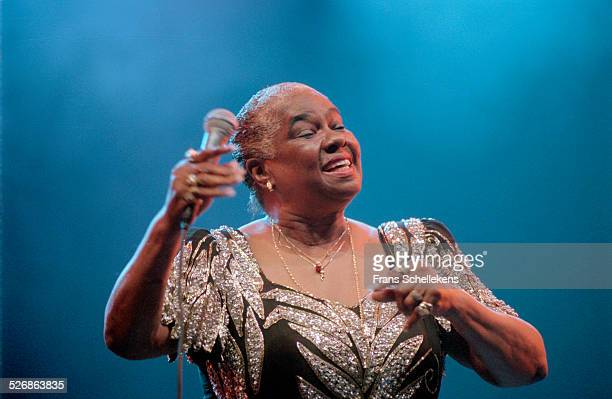 Linda Hopkins vocal performs on July 14th 2000 at the North Sea Jazz Festival in the Hague Netherlands