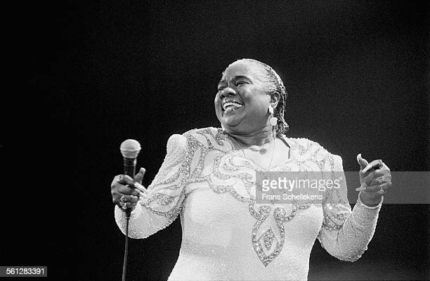 Linda Hopkins vocals performs on July 9th 1993 at the North Sea Jazz Festival in the Hague Netherlands