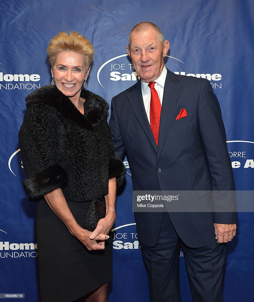 Linda Kaat (L) and former professional baseball player Jim Kaat attends the Joe Torre Safe At Home Foundation's 10th Anniversary Gala at Pier 60 on January 24, 2013 in New York City.