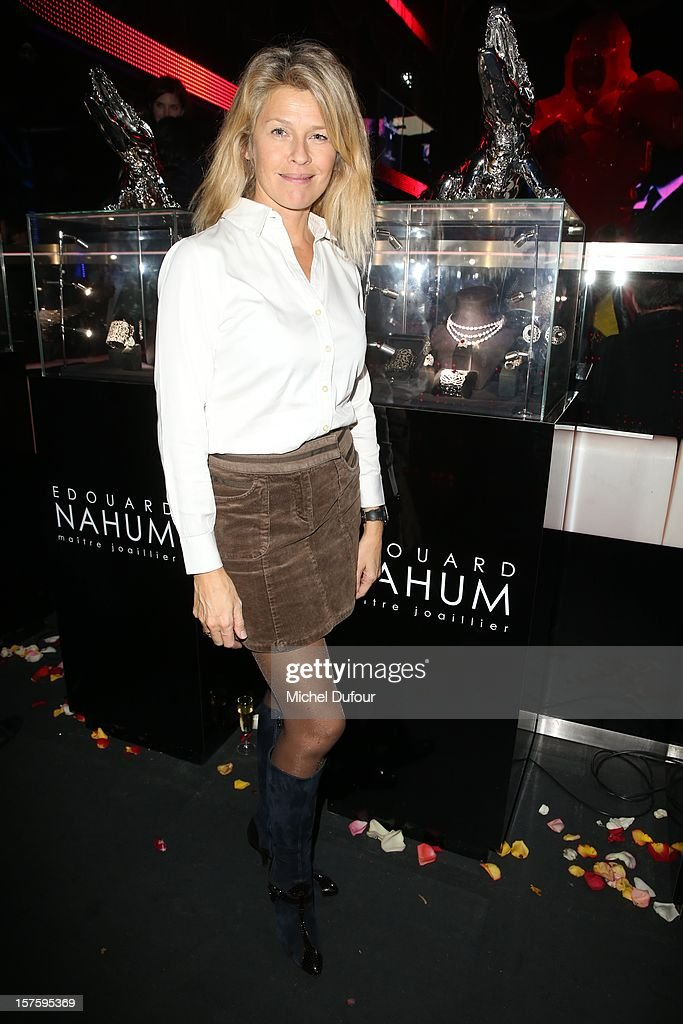 Linda Lacoste attends jeweler Edouard Nahum's 'Maya' collection launch cocktail party at La Gioia on December 4, 2012 in Paris, France.