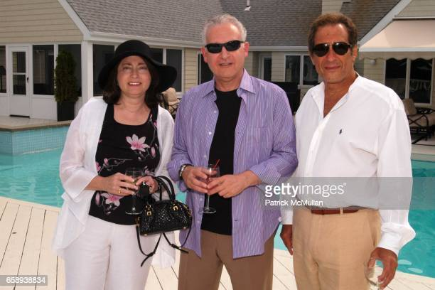 Linda Leon Martin Leon and Jeffrey Moses attend PULSE OF THE CITY GALA Comes To The Hamptons Hosted by the CARDIOVASCULAR RESEARCH FOUNDATION at...