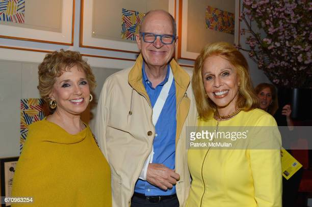 Linda Lewis Christopher Gates and Susan Silver attend Susan Silver's Memoir Signing Celebration at Michael's on April 20 2017 in New York City
