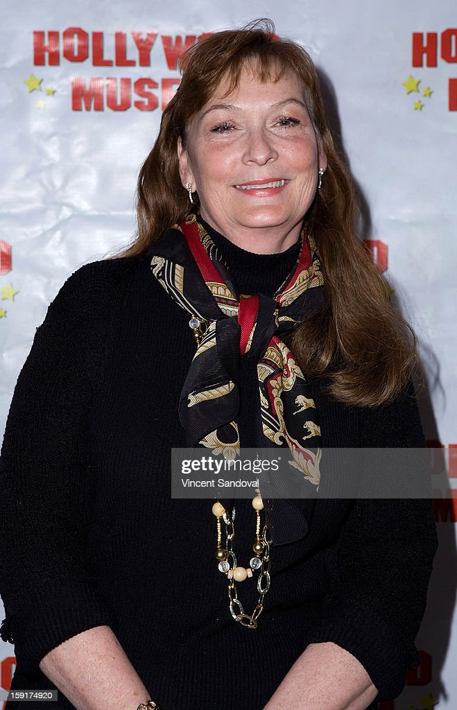 Linda Lewis, Daughter-in-law of Loretta Young, attends The Hollywood Museum's 'Loretta Young: Hollywood Legend' exhibit opening party at The Hollywood Museum on January 8, 2013 in Hollywood, California.