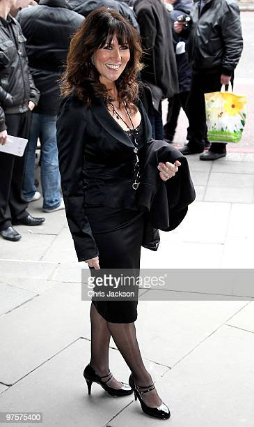 Linda Lusardi arrives at the TRIC Awards at Grosvenor House on March 9 2010 in London England