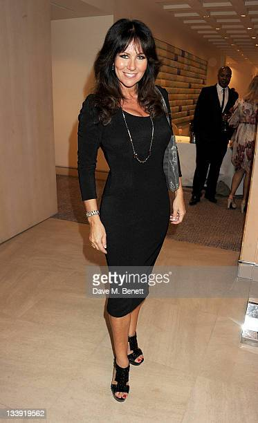 Linda Lusardi attends A Ladies Thanksgiving Lunch Fashion Show Extravaganza hosted by Peter Andre and Jilly Johnson in aid of The Peace Hospice at...