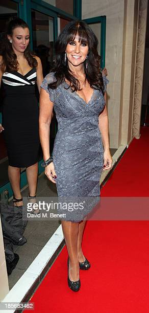 Linda Lusardi attends the London Lifestyle Awards at the Troxy on October 23 2013 in London England