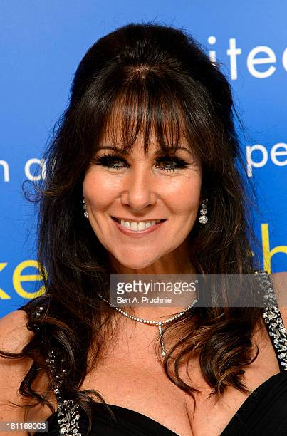 Linda Lusardi attends the MakeAWish Foundation's UK Valentine's Ball 2013 held at The Dorchester on February 9 2013 in London England