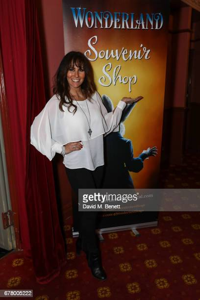 Linda Lusardi attends the press night performance of 'Wonderland' at New Wimbledon Theatre on May 3 2017 in Wimbledon England