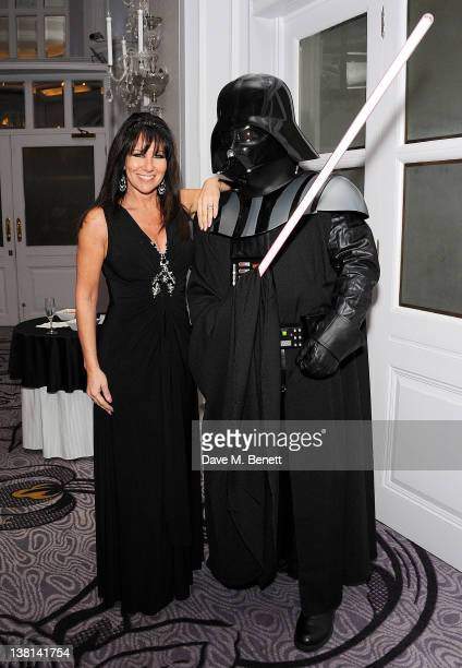 Linda Lusardi attends the Star Wars Black Tie Dinner and Quiz at Hilton Park Lane on February 2 2012 in London England