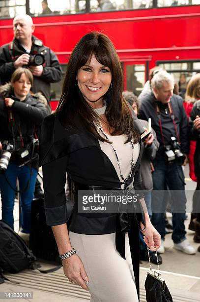 Linda Lusardi attends the TRIC awards at the Grosvenor House Hotel on March 13 2012 in London England