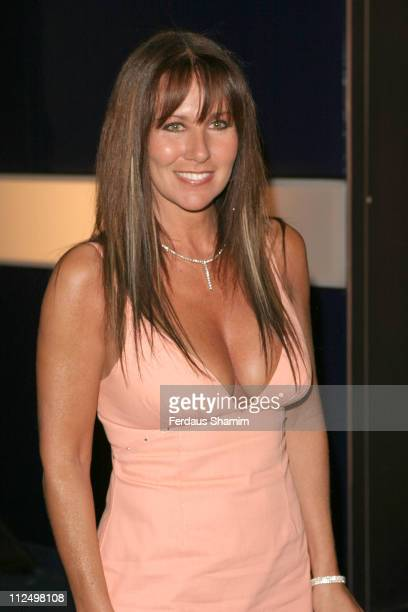 Linda Lusardi during 'Hell's Kitchen II' Day 5 Arrivals at Atlantis Building Brick Lane in London Great Britain