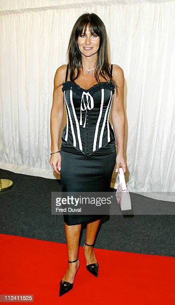 Linda Lusardi during ITV's 'Hell's Kitchen' May 28 2004 Arrivals at Brick Lane in London United Kingdom