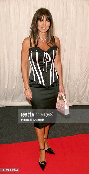 Linda Lusardi during ITVs Hell's Kitchen May 28 2004 Arrivals at Brick Lane London in London Great Britain