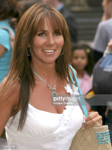 Linda Lusardi during 'New York Minute' London Premiere Arrivals at Odeon West End in London Great Britain