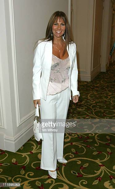 Linda Lusardi during 'The Bill' 20th Anniversary Luncheon at Grosvenor Hotel in London United Kingdom