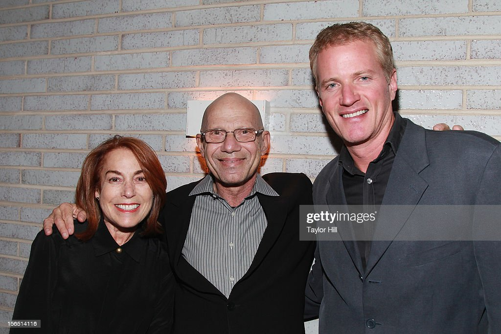 Linda Marcus and Steven Nislick of NYCLASS and PETA Senior Vice President Dan Mathews attend a PETA Fundraiser at The Standard Hotel on November 15, 2012 in New York City.