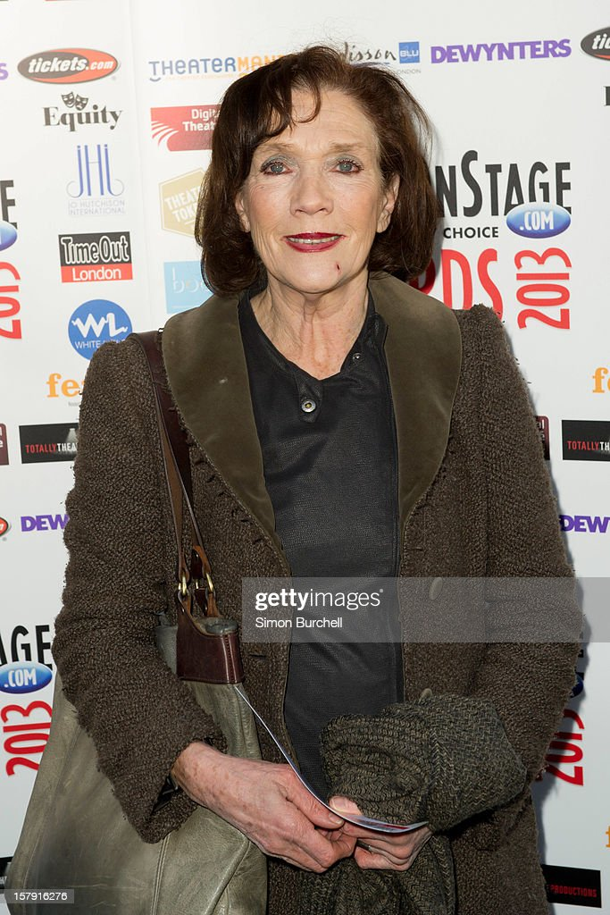 Linda Marlow attends the Whatsonstage.com Theare Awards nominations launch at Cafe de Paris on December 7, 2012 in London, England.