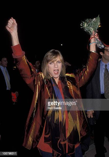 Linda McCartney during Book Party for Linda McCartney at FaheyKlein Gallery in West Hollywood California United States