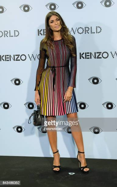 Linda Morselli attends the Kenzo Summer Party at the Royal Theater on September 6 2017 in Madrid Spain