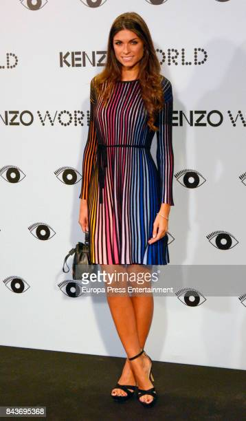 Linda Morselli attends the 'Kenzo summer party' photocall at Royal Theatre on September 6 2017 in Madrid Spain