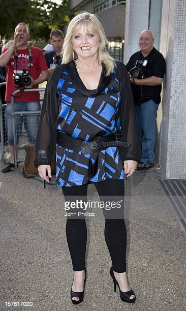 Linda Nolan Arrives To 'An Audience With Donny And Marie Osmond' Tv Programme At The Itv Studios In London