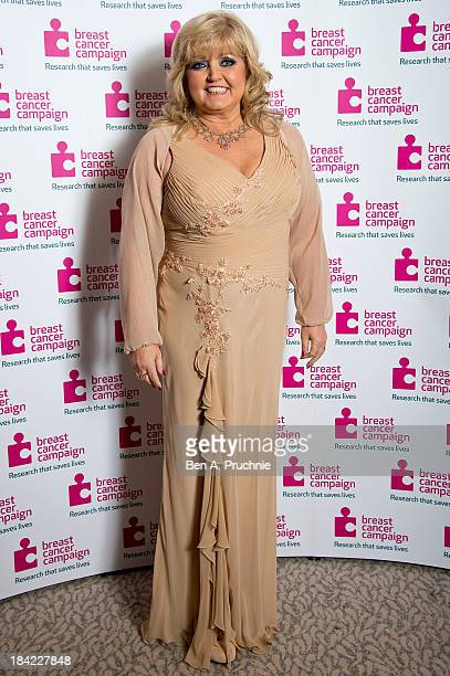 Linda Nolan attends the Breast Cancer Campaign's Pink Ribbon Ball at The Dorchester on October 12 2013 in London England