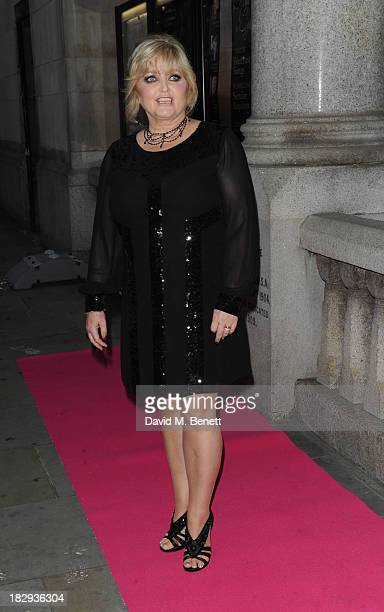 Linda Nolan attends the Inspiration Awards for Women at Cadogan Hall on October 2 2013 in London England