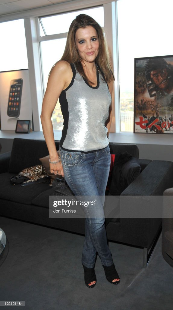 Linda Papadopoulous attends the Samsung Galaxy S launch on June 15, 2010 in London, England.