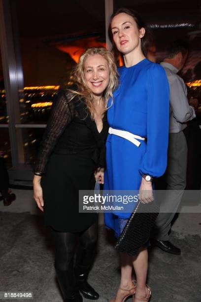 Linda Pollack and Emma Schofield attend New Museum Spring Gala and After Party Sponsored by Interview Magazine Melissa Shoes and Prairie Vodka at 7...